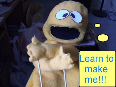 You can make a Puppet Now! How to make Patterns and Puppets eBook